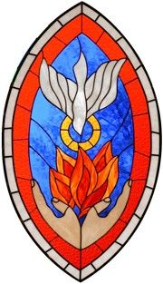 Pentecost Stained glass